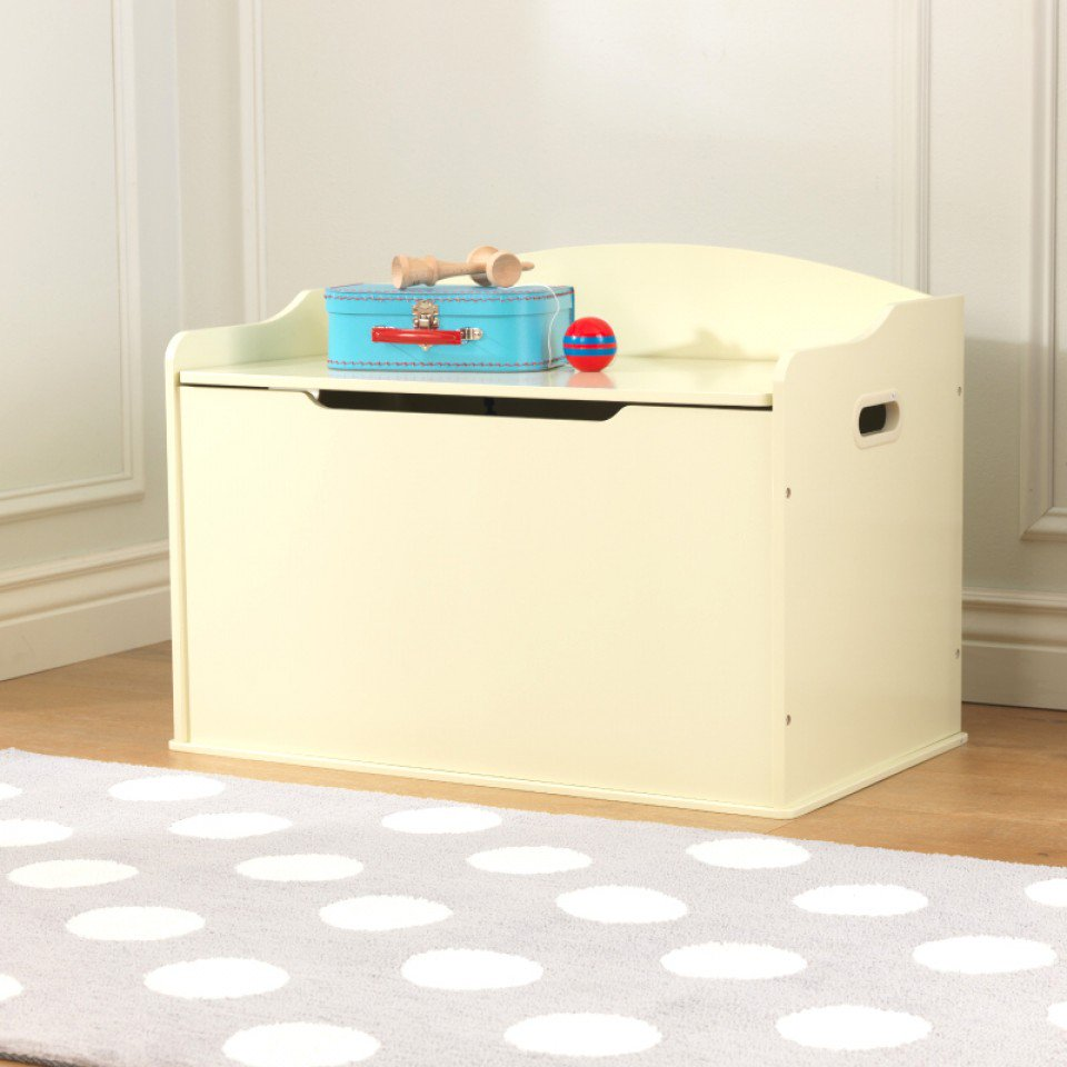 kidkraft baul para juguetes austin beige vista principal