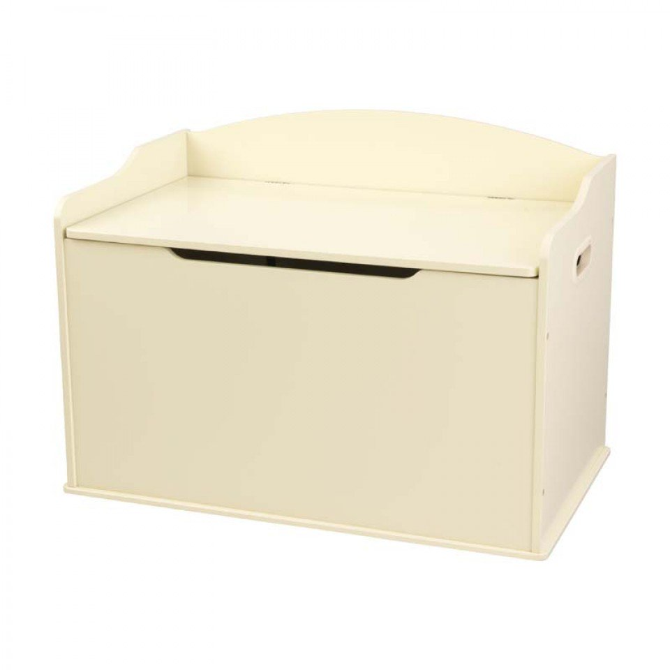 Kidkraft austin toy box natural 14953 -  Kidkraft Baul Para Juguetes Austin Beige 14958 Con Fondo Blanco