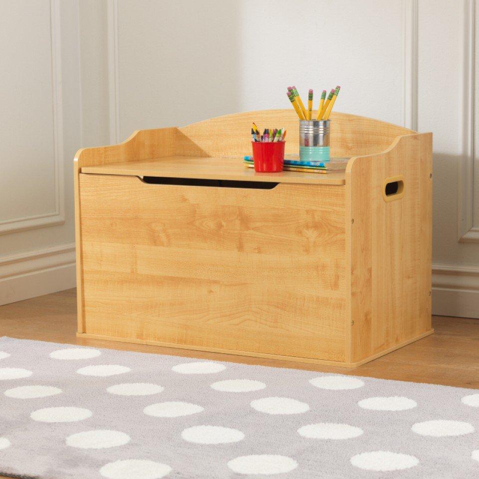 Kidkraft Baul Para Juguetes Austin Natural 14953 Inforchess # Pequenos Gigantes Muebles