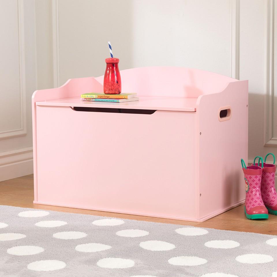 Kidkraft baul para juguetes austin rosa 14957 Inforchess