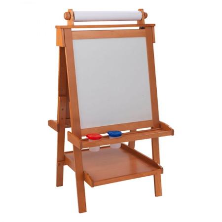 caballete de madera ajustable para niños width=