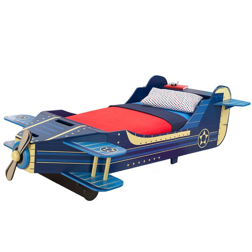 Comprar cama en forma de avión width=