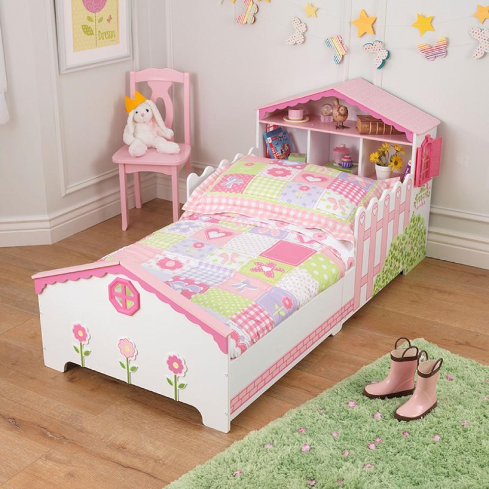 Kidkraft cama en forma de casa de muñecas 76255 | Inforchess