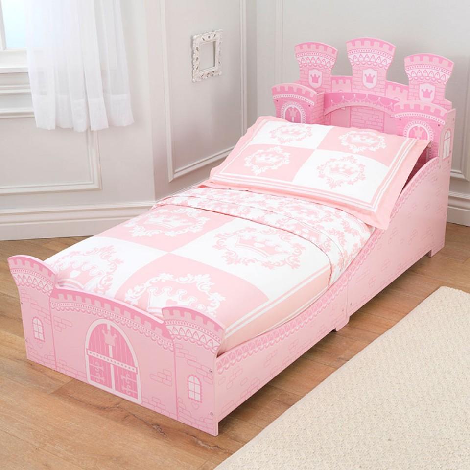 Kidkraft cama en forma de castillo de princesa 76278 - Cama princesa nina ...