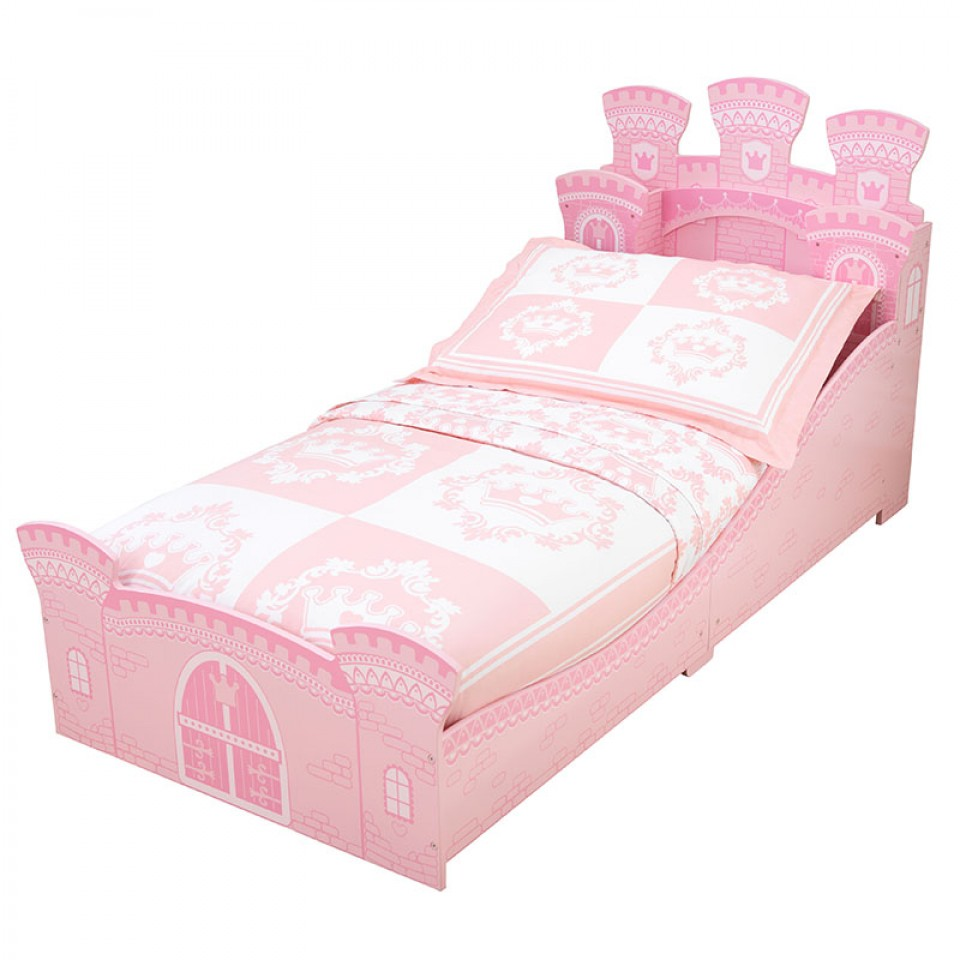 Kidkraft cama en forma de castillo de princesa 76278 - Muebles de princesas ...