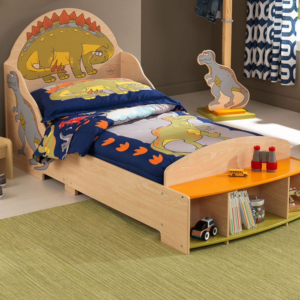 Compra cama dinosaurios