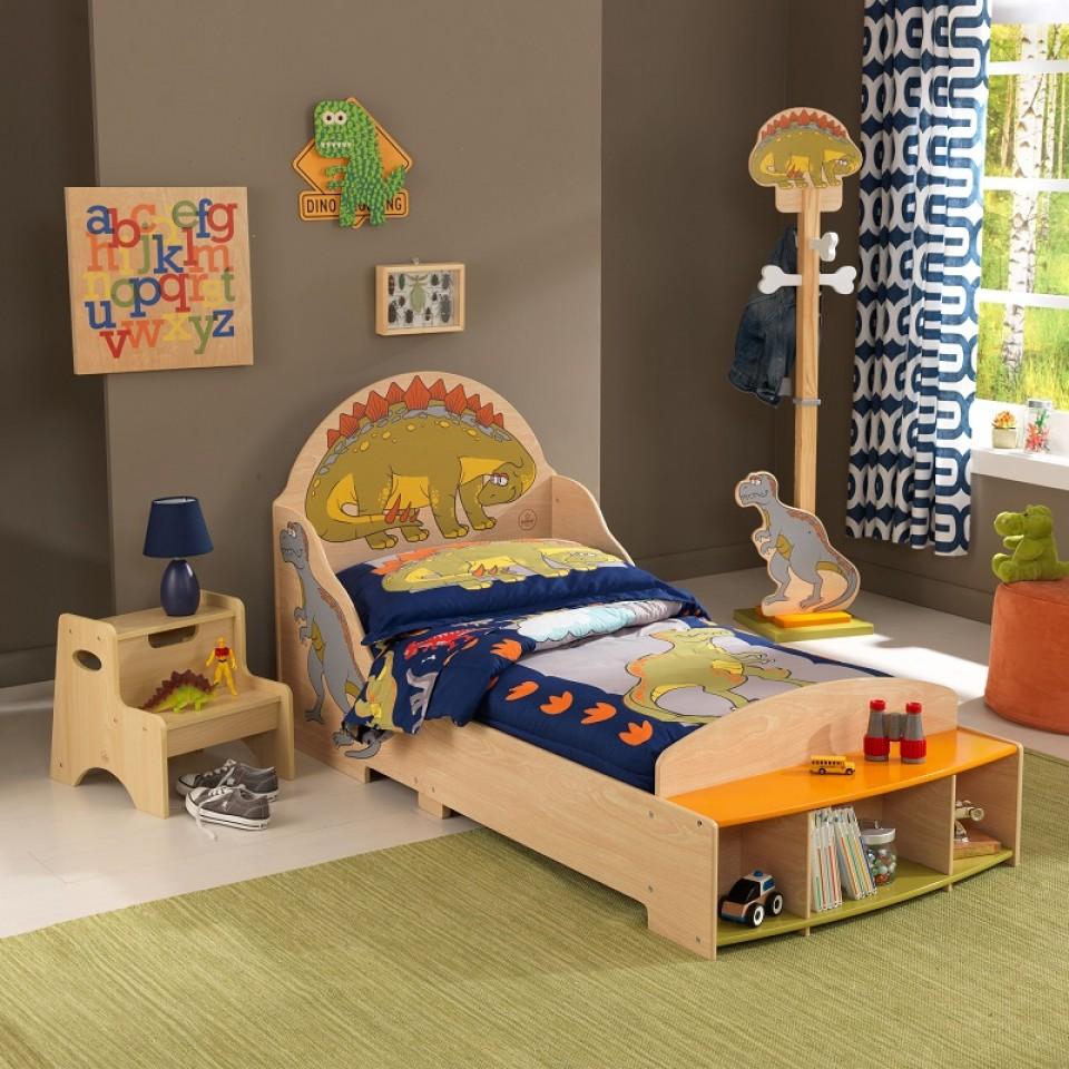 Kidkraft cama infantil de dinosaurios ue 86938 | Inforchess