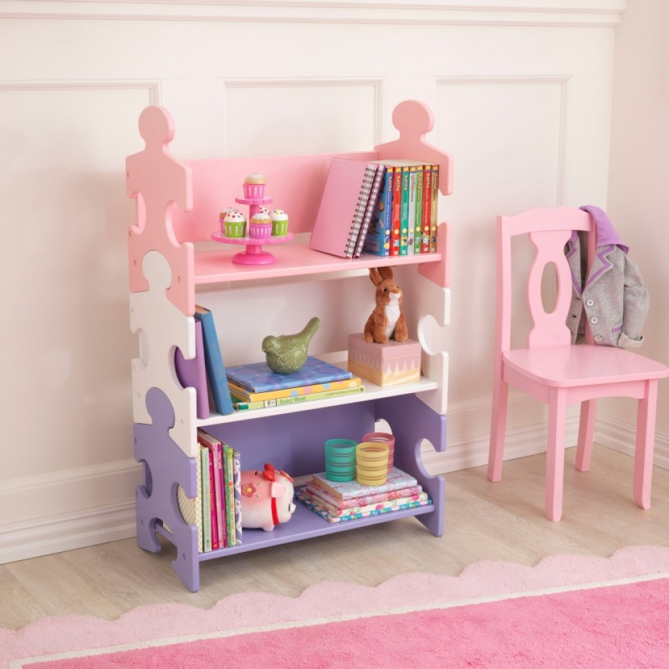 Muebles Para Libros Ninos.Kidkraft Estanteria De Libros En Colores Pasteles 14415 Inforchess