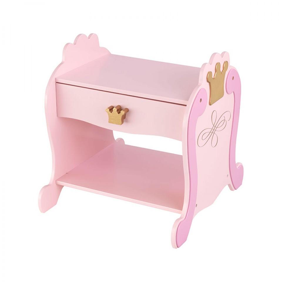 Kidkraft mesita de noche estilo princesa 76124 inforchess - Muebles de princesas ...