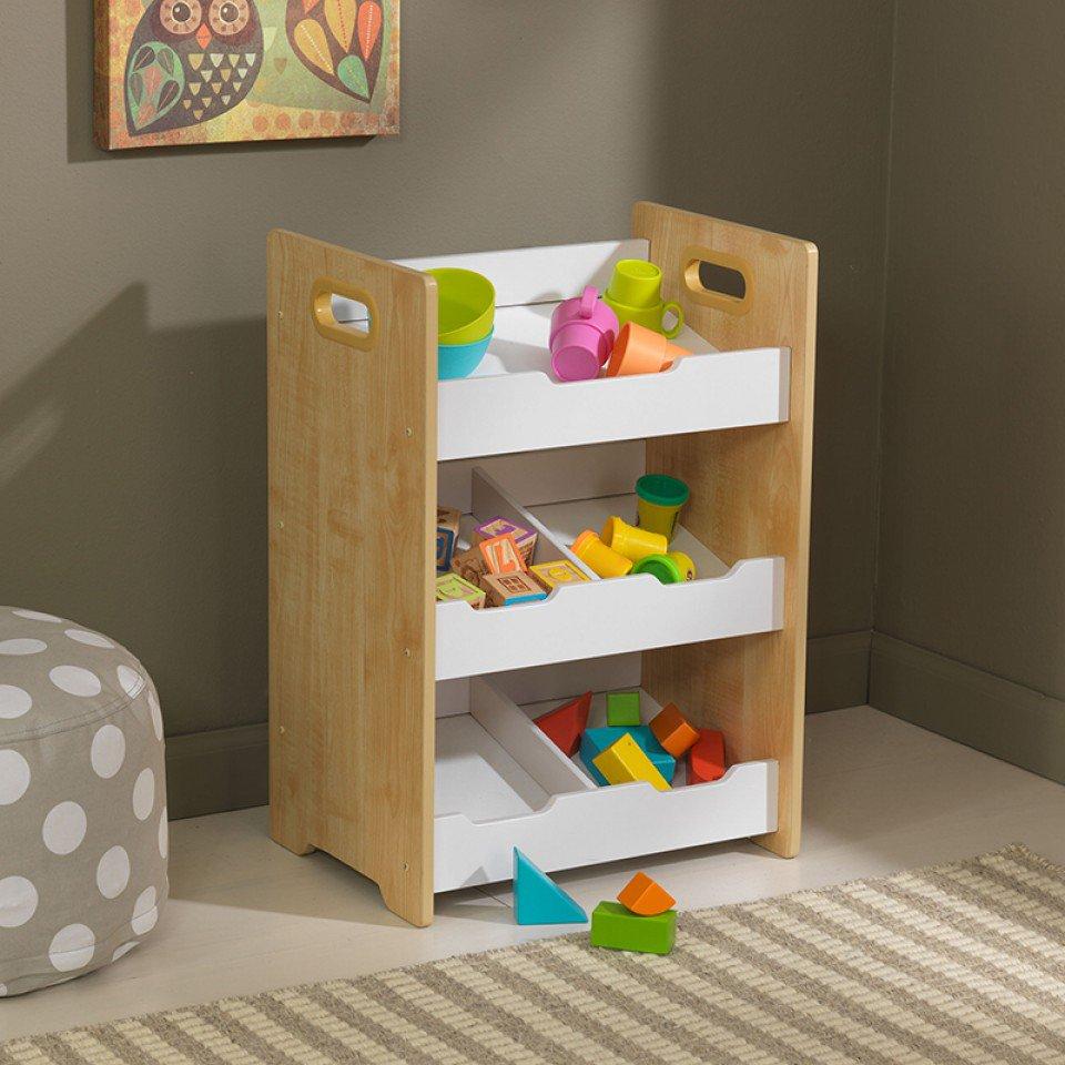 kidkraft unidad con cubos y estantes blancos 15766 inforchess. Black Bedroom Furniture Sets. Home Design Ideas