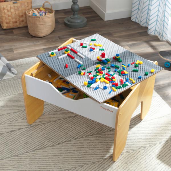 Kidkraft Mesa de Actividades 2 en 1 10039 - vista piezas compatibles lego