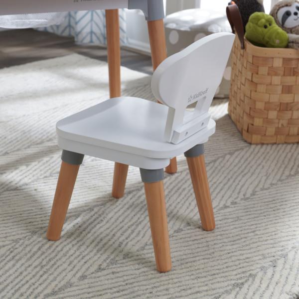 Kidkraft juego de mesa y sillas Mid Century 26195 - vista silla trasera
