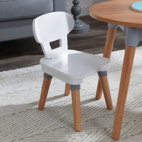 Kidkraft juego de mesa y sillas Mid Century 26195 - vista silla frontal