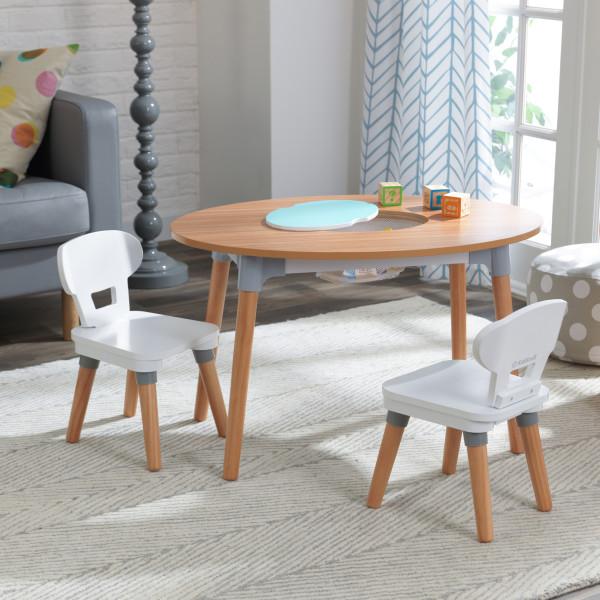 Kidkraft juego de mesa y sillas Mid Century 26195 - vista set
