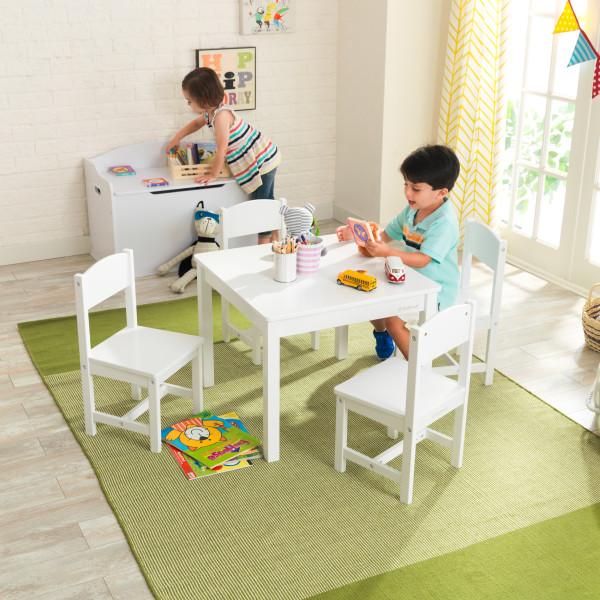 Kidkraft set de mesa y 4 sillas Farmhouse 21455