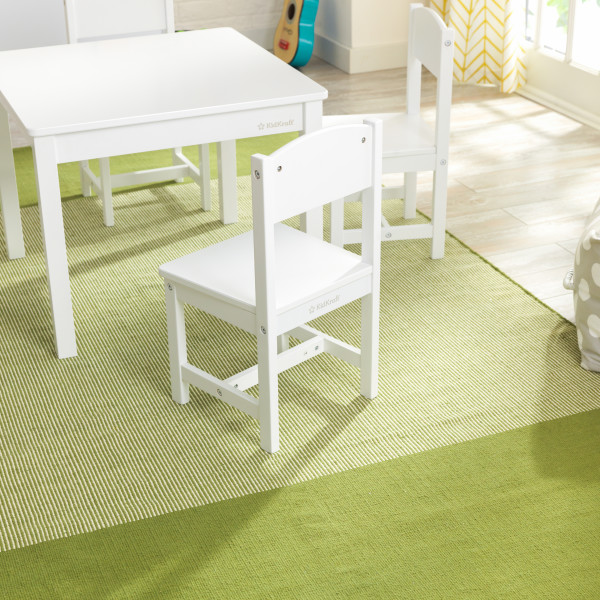 Kidkraft set de mesa y 4 sillas Farmhouse 21455 - vista trasera silla