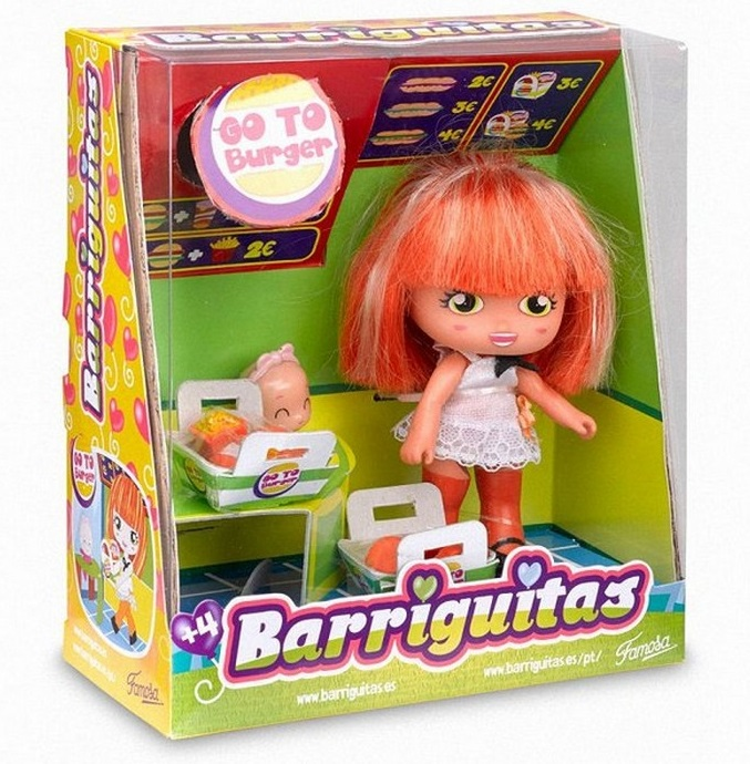 BARRIGUITAS ESCENAS DIVERTIDAS - BURGUER width=