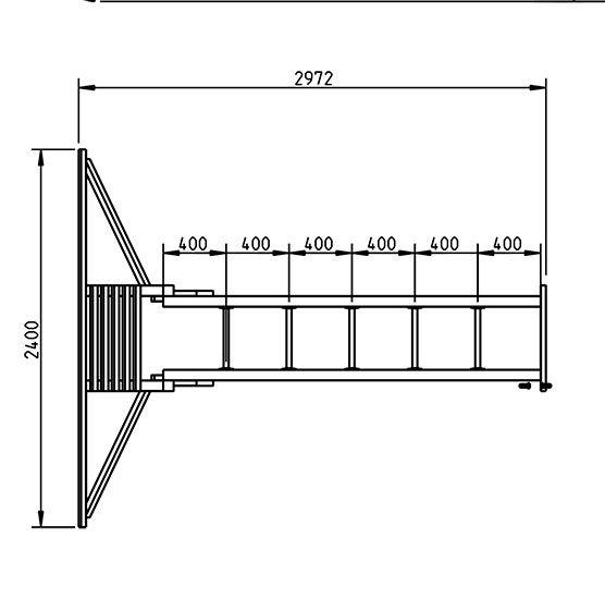 Escalera de mono - grafico aereo