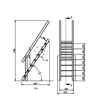 @Steps XL - grafico medidas