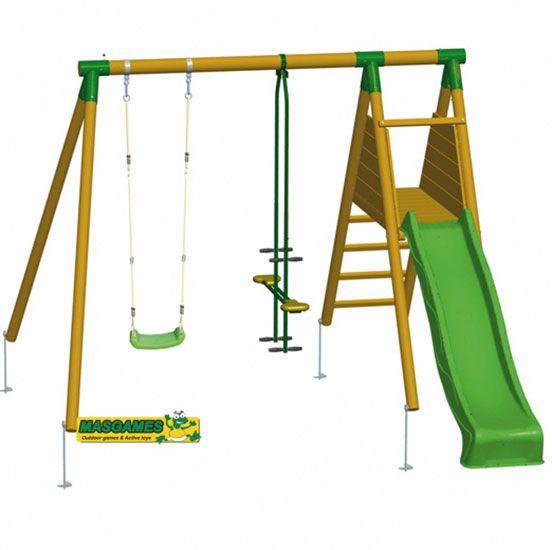 Parque infantil Mauna-Loa con asiento cara a cara
