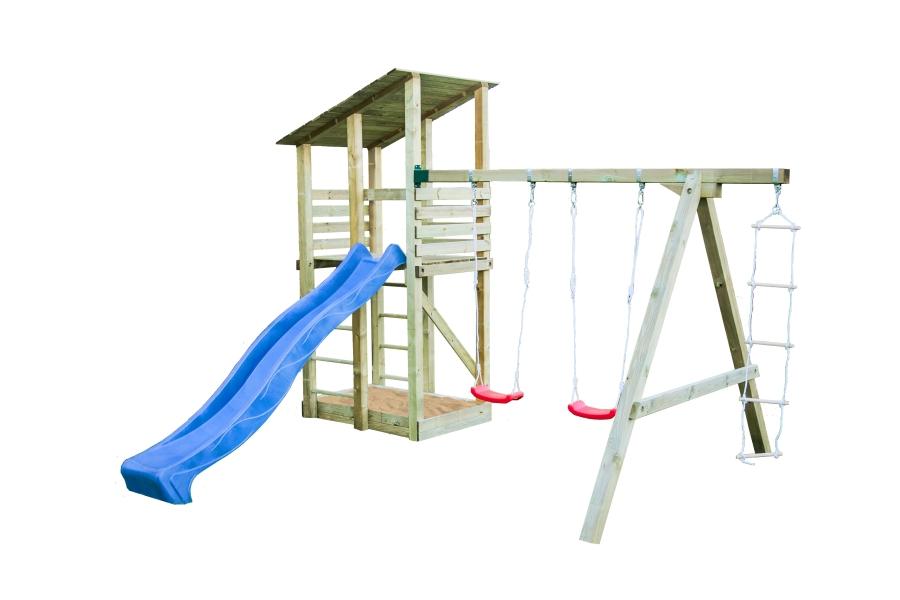 Parque Infantil de Madera Minna con tobogan