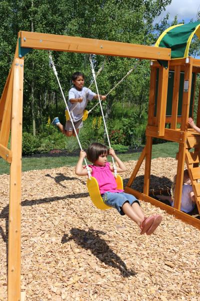 Parque infantil Ainsley Kidkraft - Columpios