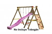 Parque Infantil Bosse sin tobogan