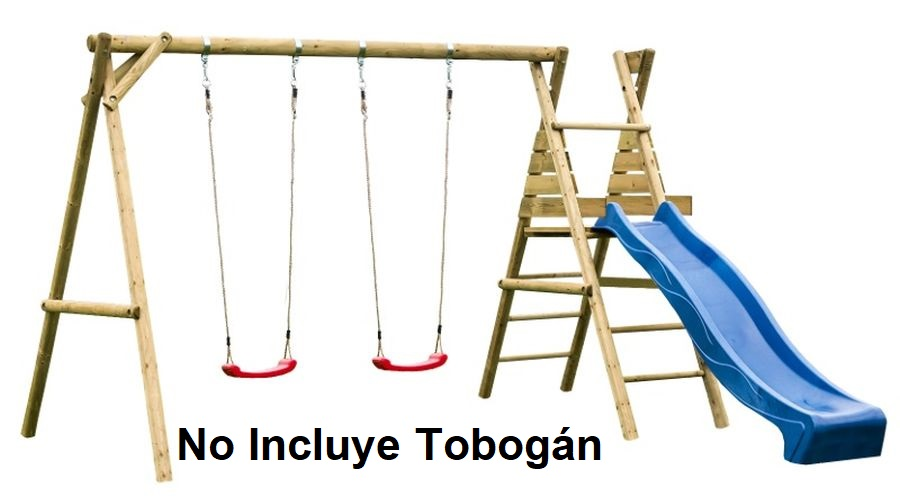 Parque Infantil Harald sin tobogan