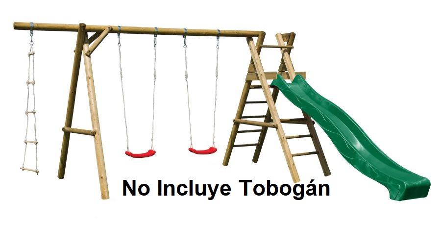 Parque Infantil Henrik sin tobogan