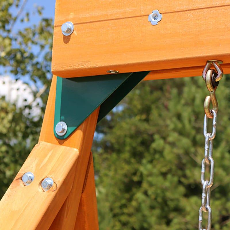 Parque infantil Ainsley Kidkraft - anclajes