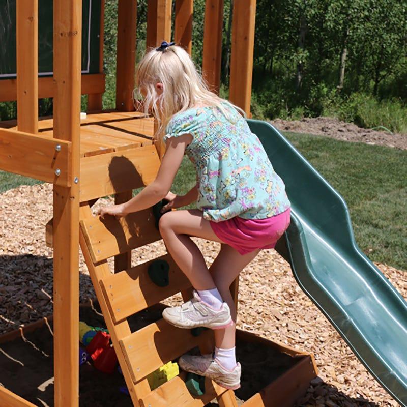 Parque infantil Ainsley Kidkraft - rocódromo