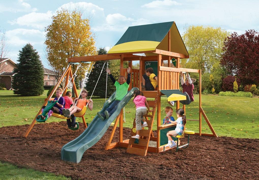Parque para Niños de Madera Brookridge de Kidkraft