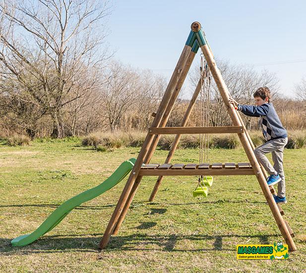 Parque Infantil Masgames Milos - Lateral