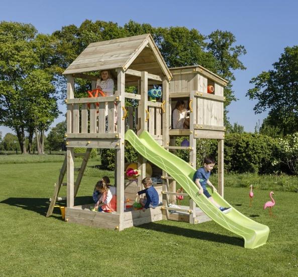 Parque infantil Palazzo XL con challenger - vista torre