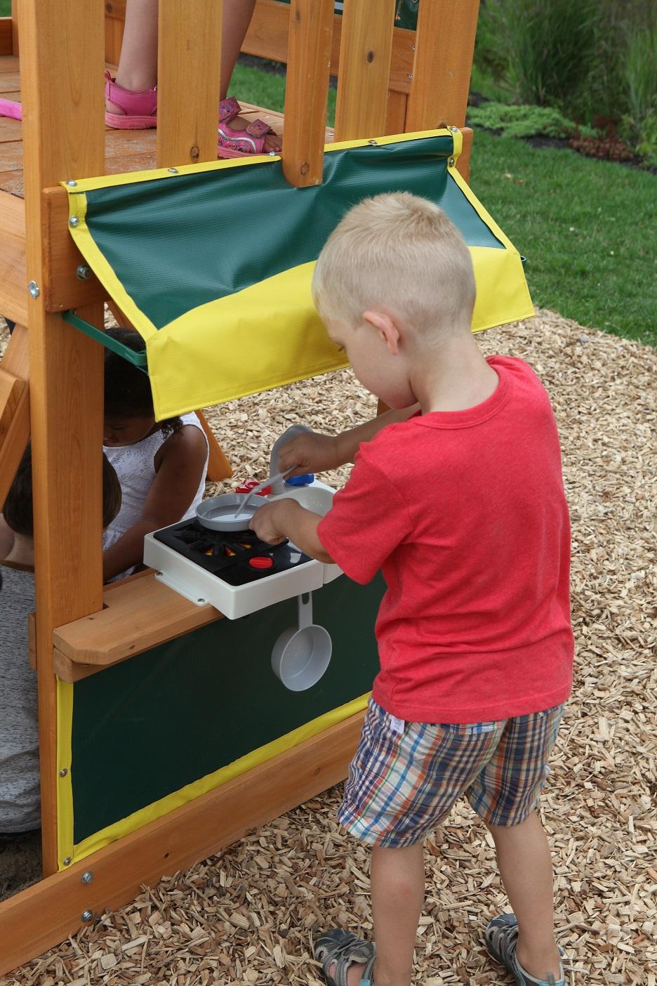 Parque para Niños de Madera Sun Bistro de Kidkraft - bistro
