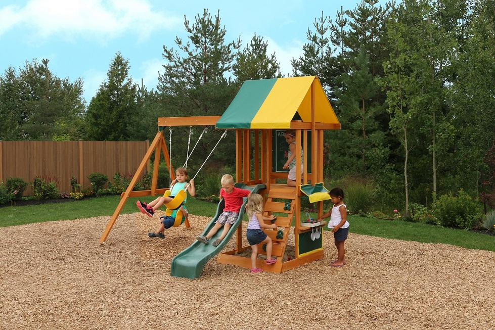 Parque para Niños de Madera Sun Bistro de Kidkraft niños