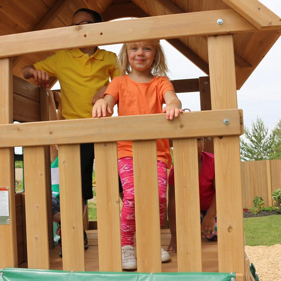 Parque para Niños de Madera Windale de Kidkraft - plataforma superior