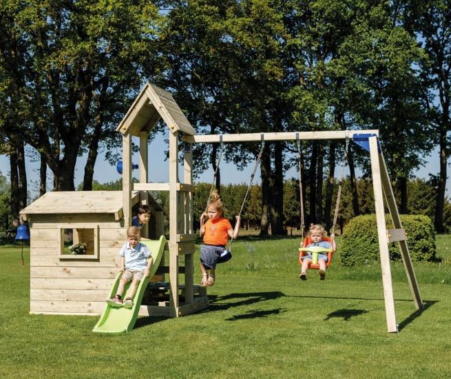 Parque infantil Lookout M con Challenger