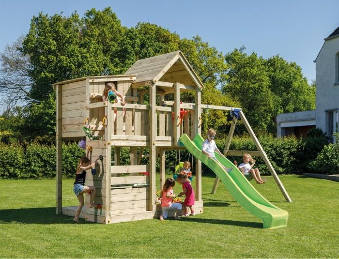 Parque infantil Palazzo XL con challenger