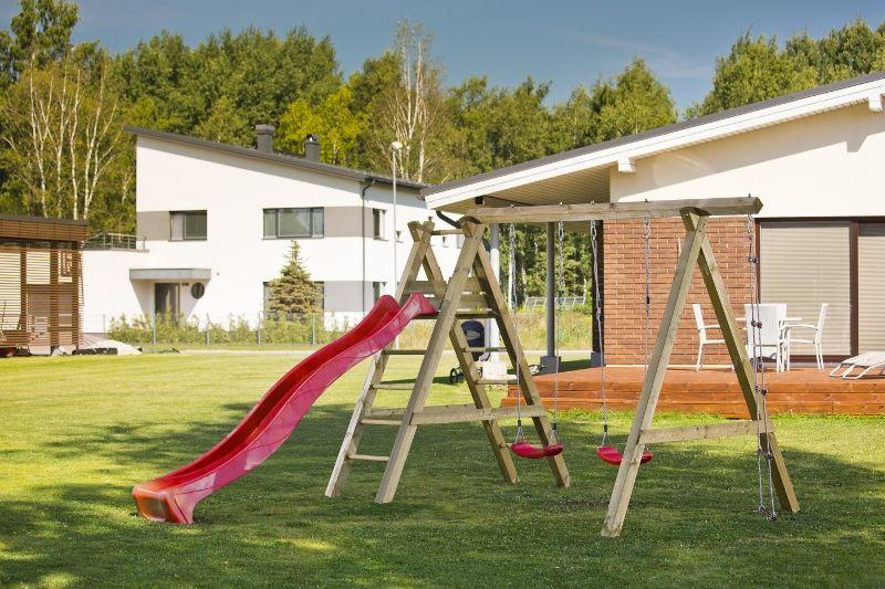 Parque Infantil de Madera Sofia - Vista lateral
