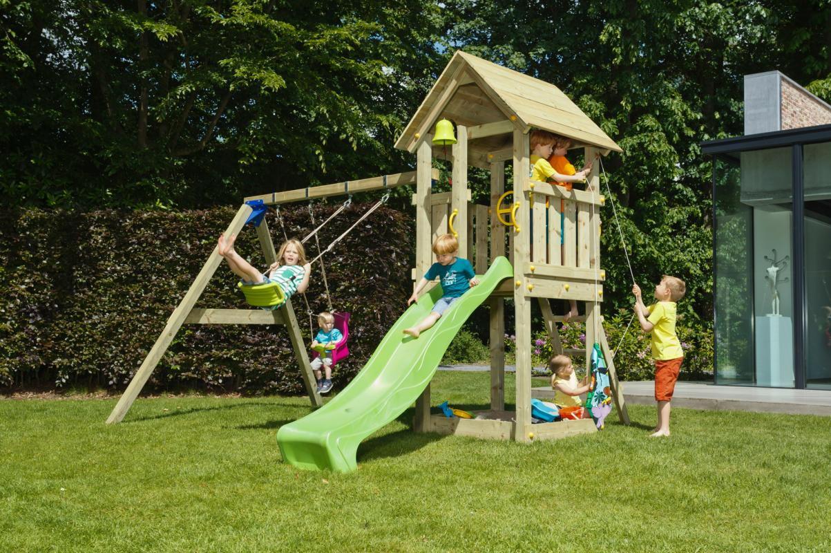 Torre Infantil Kiosk XL Con Columpio Doble