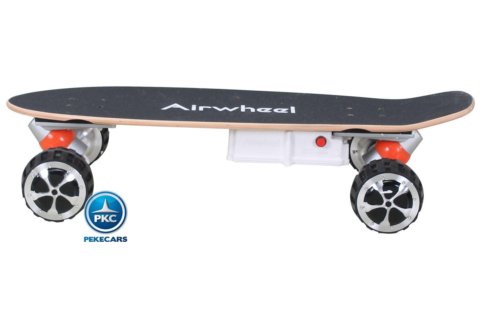 SKATEBOARD AIRWHEEL M3 350W 36V NEGRO 2.4G
