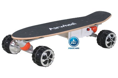 SKATEBOARD AIRWHEEL M3 350W 36V NEGRO 2.4G