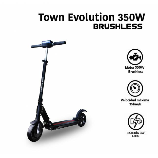 PATINETE ELECTRICO TOWN EVOLUTION