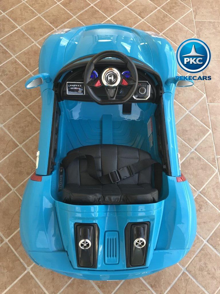 porsche style 12v azul superior width=