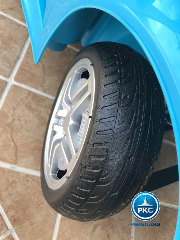 porsche style 12v azul rueda width=