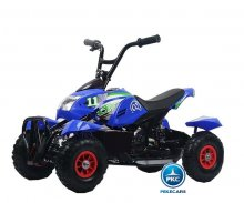 Quad electrico mega quad 4100 azul