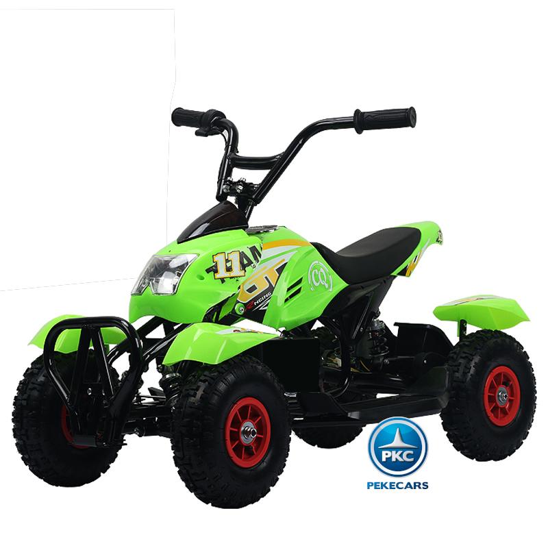 Quad electrico mega quad 4100 verde