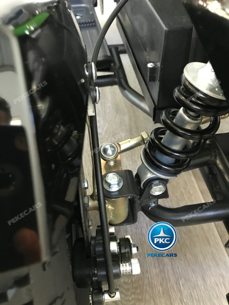 QUAD COBRA VERDE 36V - vista amortiguador width=