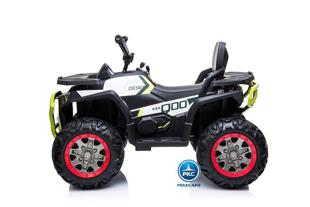 Quad electrico desert blanco 12V 2.4G